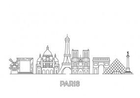 Sticker Paris