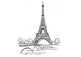 Sticker Paris seine