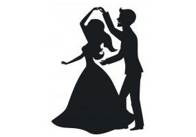 Sticker mariage danse