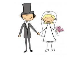 Sticker mariage