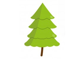 Sticker arbre sapin