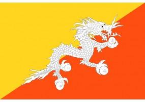 Sticker Drapeau Benin