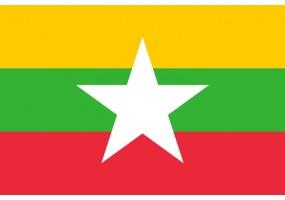 Sticker Drapeau Bhoutan