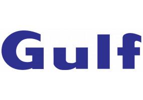 Sticker Gulf bleu marine lettre