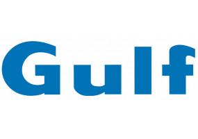 Sticker Gulf bleu lettre