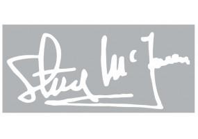 Sticker Gulf signature steve mcqueen
