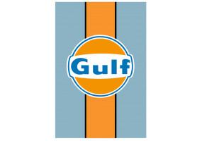 Sticker Gulf vintage