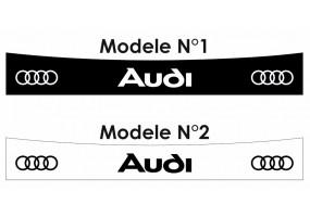 Sticker AUDI bande logo