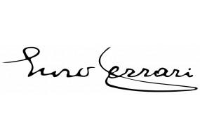 Sticker FERRARI signature noir blanc