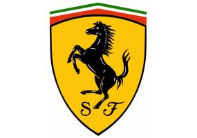 Sticker FERRARI logo vintage