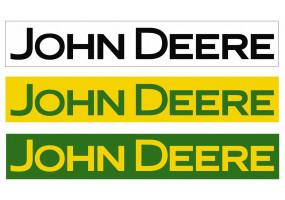 Sticker John Deere couleur