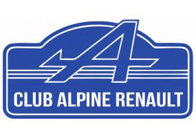 Sticker ALPINE renault bleu blanc