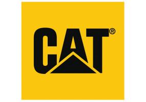 Sticker CATERPILLAR CAT jaune noir