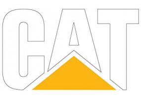 Sticker CATERPILLAR logo lettrage