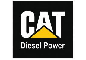 Sticker CATERPILLAR logo diesel power
