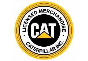 Sticker CATERPILLAR CAT logo rond