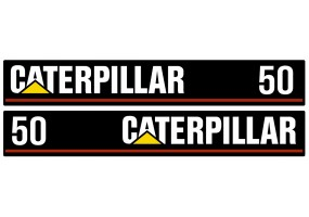 Sticker CATERPILLAR CAT 50