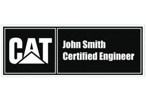 Sticker CATERPILLAR vintage john Smith