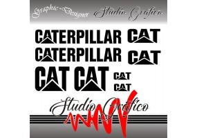 Sticker CATERPILLAR vintage