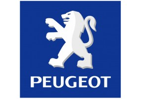 Sticker PEUGEOT alpine bleu
