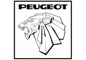 Sticker PEUGEOT logo alpine