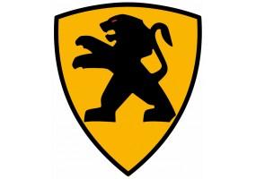 Sticker PEUGEOT logo sport