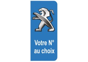 Sticker PEUGEOT sport couleur