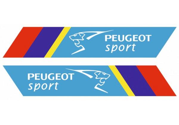 Sticker PEUGEOT sport couleur