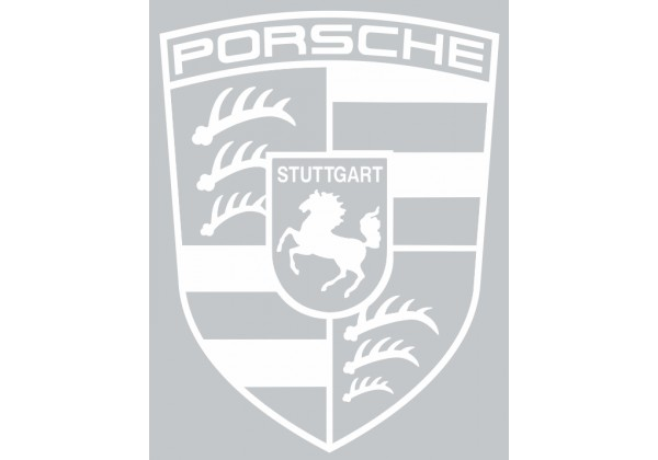Sticker PORSCHE logo