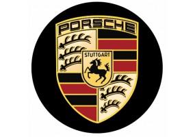 Sticker PORSCHE logo rond
