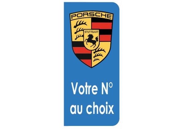 Sticker PORSCHE logo carrera