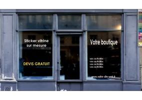 DEVIS - stickers pour vitrine