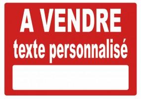 Sticker A VENDRE / A LOUER à personnaliser