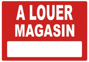 Sticker A LOUER magasin