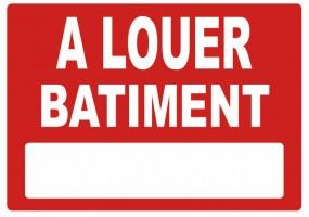 Sticker A LOUER batiment
