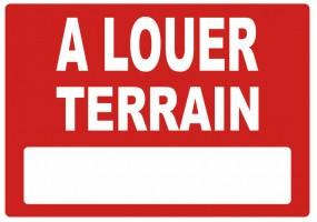 Sticker A LOUER terrain