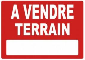 Sticker A VENDRE terrain