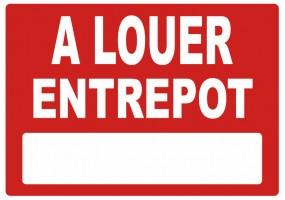 Sticker A LOUER entrepot