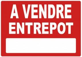 Sticker A VENDRE entrepot