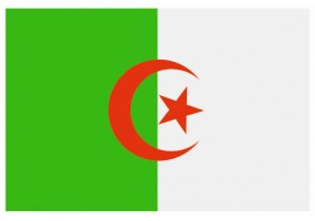 Sticker drapeau Algerie