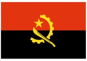 Sticker drapeau Angola