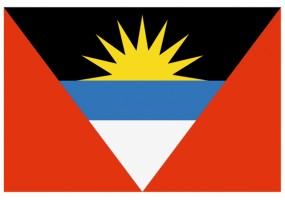 Sticker drapeau Antigua et barbuda