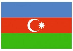 Sticker drapeau Azerbaidjan