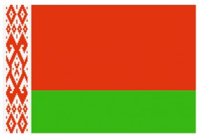 Sticker drapeau Bielorussie