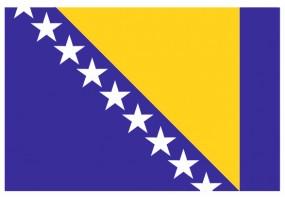 Sticker drapeau Bosnie-Herzegovine