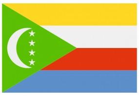 Sticker drapeau Comores