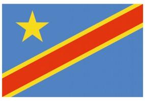 Sticker drapeau République-Démocratique-du-Congo