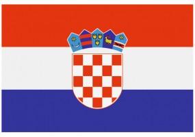 Sticker drapeau Croatie