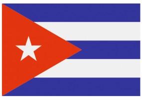 Sticker drapeau Cuba
