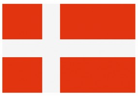Sticker drapeau Danemark